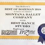 MBC Voted Best Dance Studio 2018